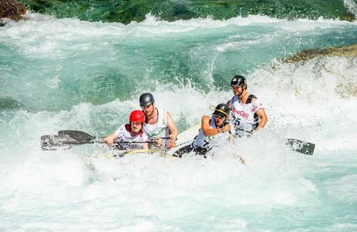 Soca river kayaking and rafting