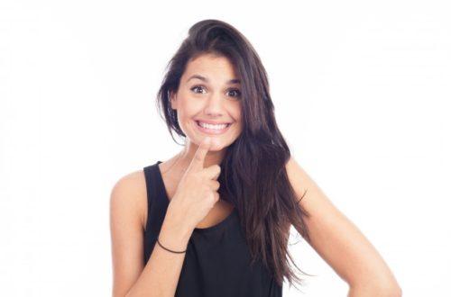 Beljenje zob za obnovitev zobne sklenine