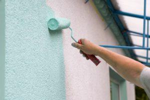 Barvanje fasade in pleskanje stanovanja