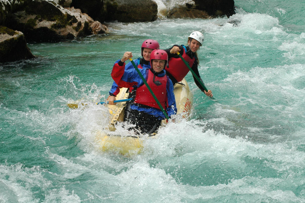Soca rafting Bovec
