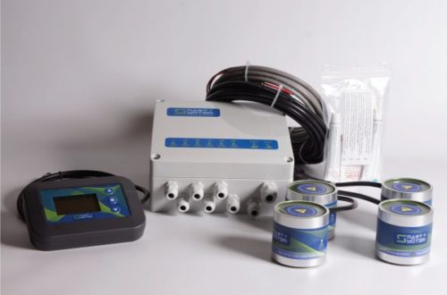 Ultrasonic antifouling system
