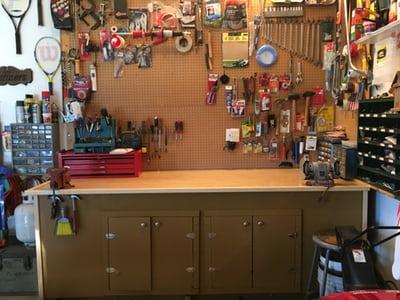 V delavnici je izjemno pomembno, da je vse urejeno