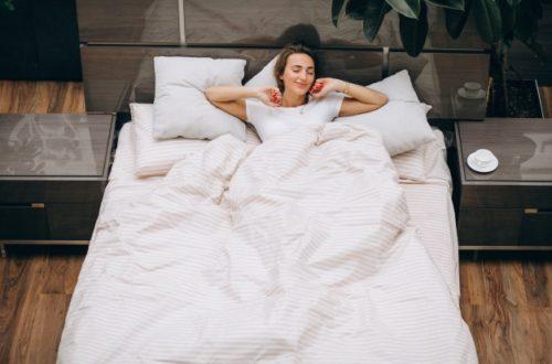 Udobje v večji postelji