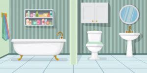 Keramika za kopalnico definira celoten prostor