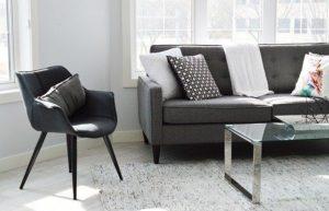Globinsko čiščenje je najbolj učinkovito pri oblazinjenem pohištvu in mehkih talnih oblogah