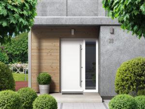 Vhodna vrata morajo imeti dolgo življenjsko dobo